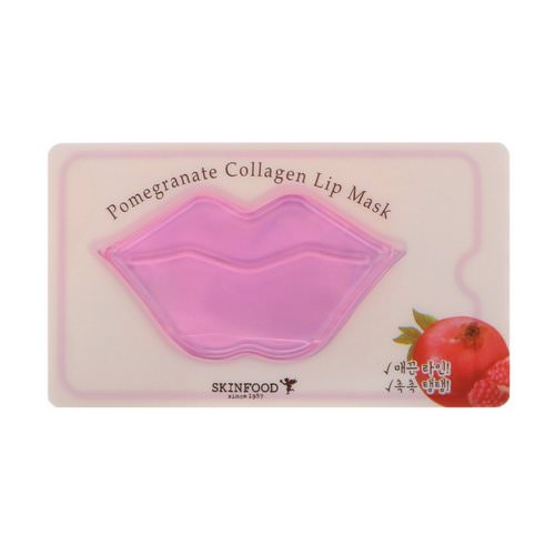 Skinfood, Pomegranate Collagen Lip Mask, 1 Mask Review