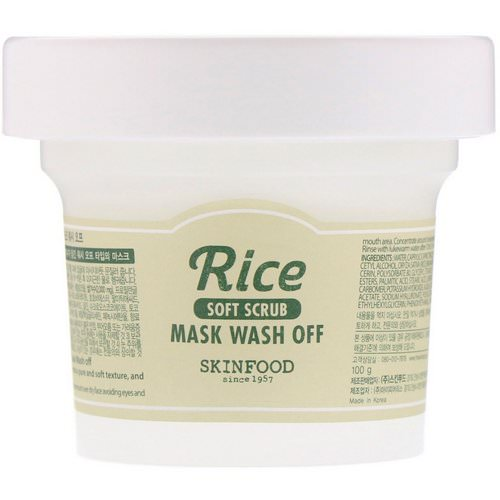 Skinfood, Rice Mask Wash Off, 3.52 oz (100 g) Review