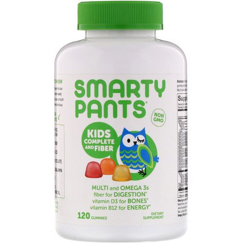 SmartyPants, Kids Complete and Fiber, 120 Gummies Review