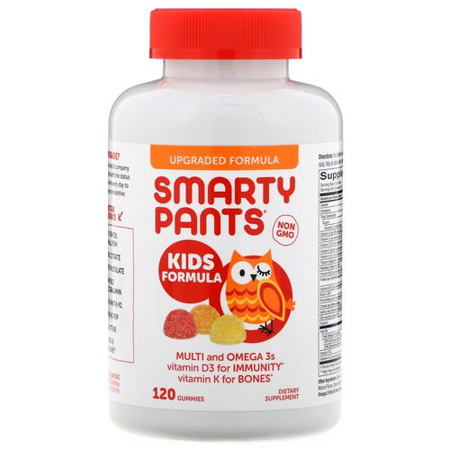 SmartyPants, Kids Formula, Strawberry Banana, Orange and Lemon, 120 Gummies Review