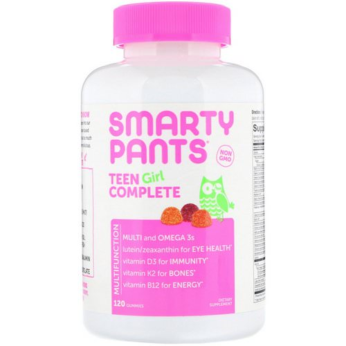 SmartyPants, Teen Girl Complete, 120 Gummies Review
