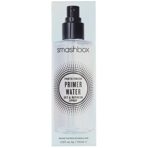 Smashbox, Photo Finish Primer Water, Set & Refresh Spray, 3.9 fl oz (116 ml) Review