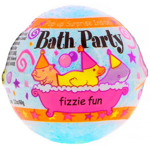 Smith & Vandiver, Bath Party Fizzie Fun, 2.2 oz (60 g) Review
