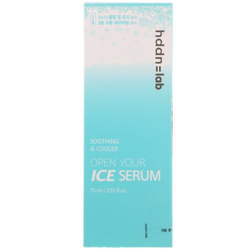 SNP, Hddn Lab, Open Your Ice Serum, 2.53 fl oz (75 ml) Review
