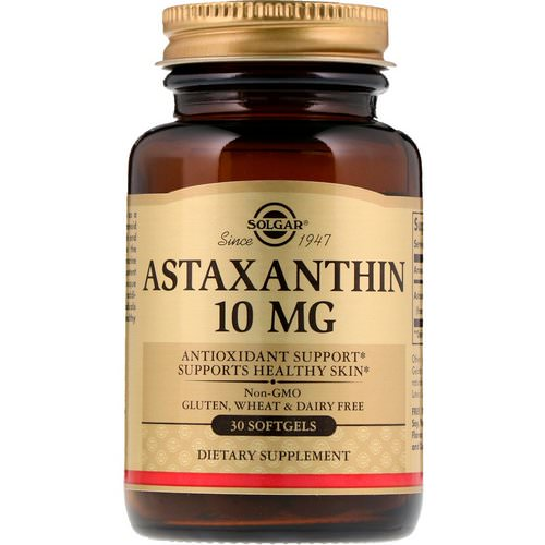 Solgar, Astaxanthin, 10 mg, 30 Softgels Review