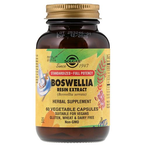 Solgar, Boswellia Resin Extract, 60 Vegetable Capsules Review