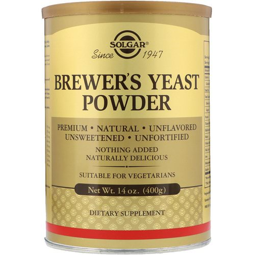 Solgar, Brewer's Yeast Powder, 14 oz (400 g) Review