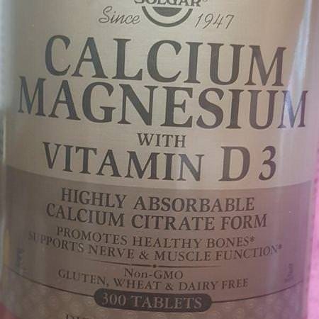 Supplements Minerals Calcium Magnesium Solgar