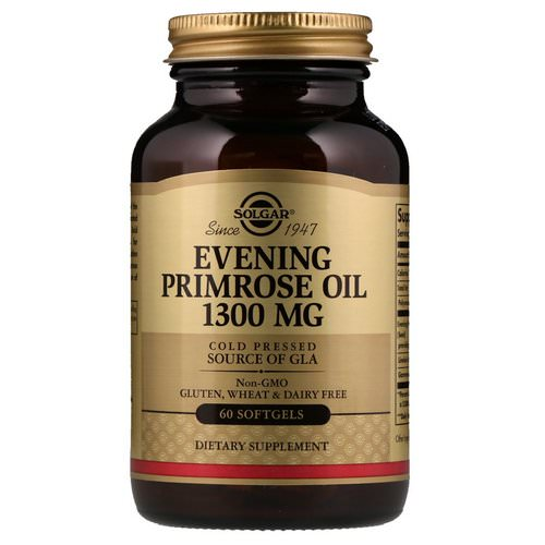 Solgar, Evening Primrose Oil, 1,300 mg, 60 Softgels Review