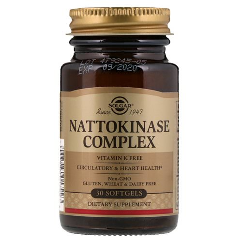 Solgar, Nattokinase Complex, 30 Softgels Review