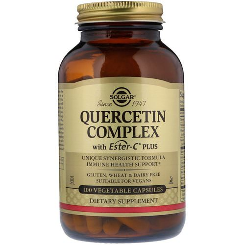 Solgar, Quercetin Complex with Ester-C Plus, 100 Vegetable Capsules Review
