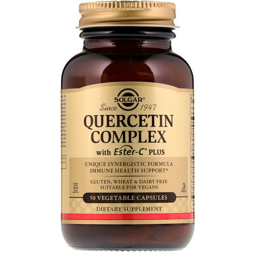 Solgar, Quercetin Complex with Ester-C Plus, 50 Vegetable Capsules Review