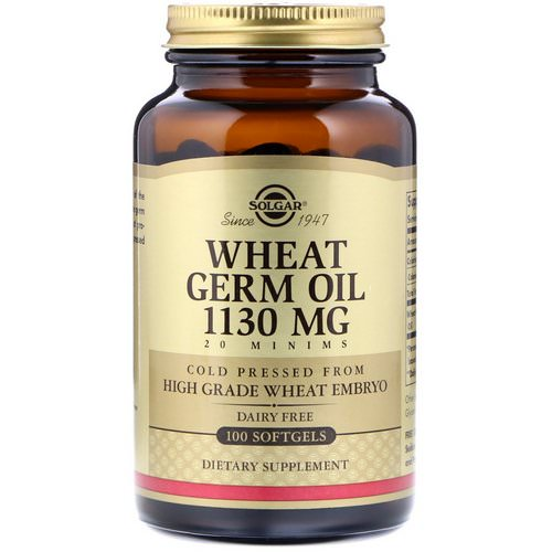 Solgar, Wheat Germ Oil, 1,130 mg, 100 Softgels Review