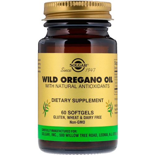 Solgar, Wild Oregano Oil, 60 Softgels Review