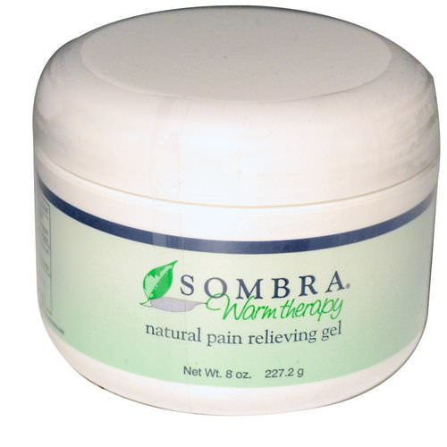 Sombra Professional Therapy, Warm Therapy, Natural Pain Relieving Gel, 8 oz (227.2 g) Review