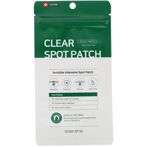 Some By Mi, 30 Days Miracle Clear Spot Patch, 18 Patches Review