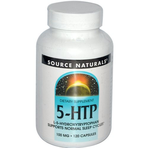Source Naturals, 5-HTP, 100 mg, 120 Capsules Review