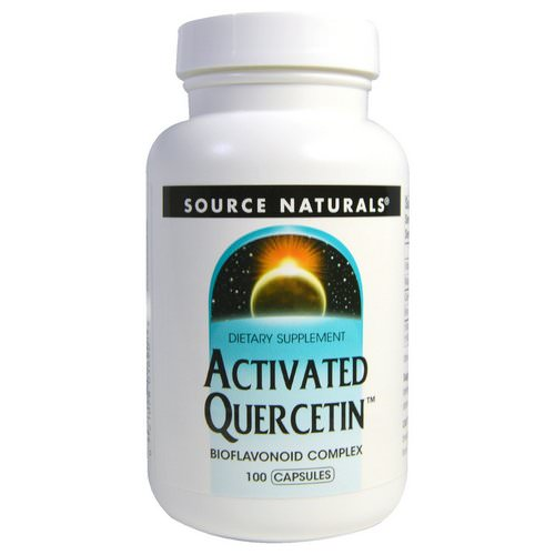 Source Naturals, Activated Quercetin, 100 Capsules Review