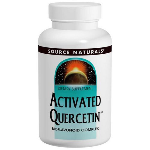 Source Naturals, Activated Quercetin, 200 Capsules Review