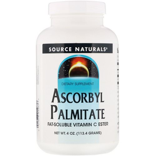 Source Naturals, Ascorbyl Palmitate, 4 oz (113.4 g) Powder Review