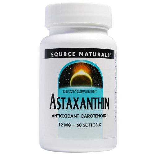 Source Naturals, Astaxanthin, 12 mg, 60 Softgels Review