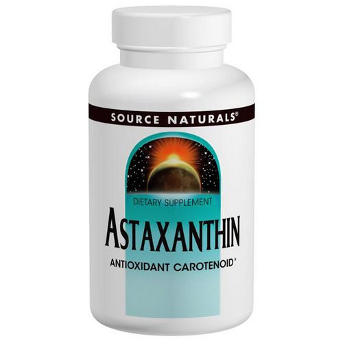 Source Naturals, Astaxanthin, 2 mg, 120 Softgels Review