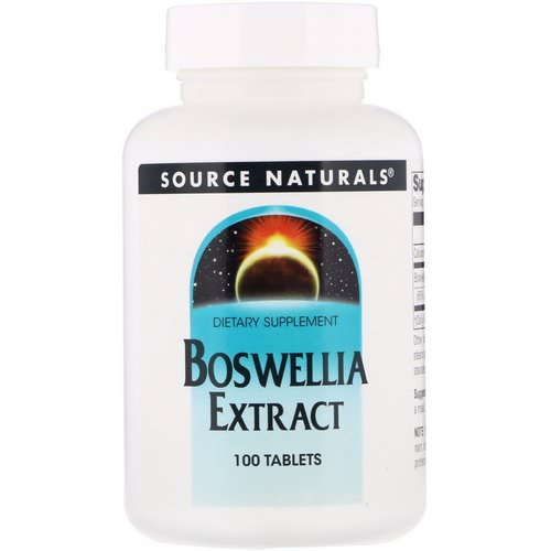 Source Naturals, Boswellia Extract, 100 Tablets Review