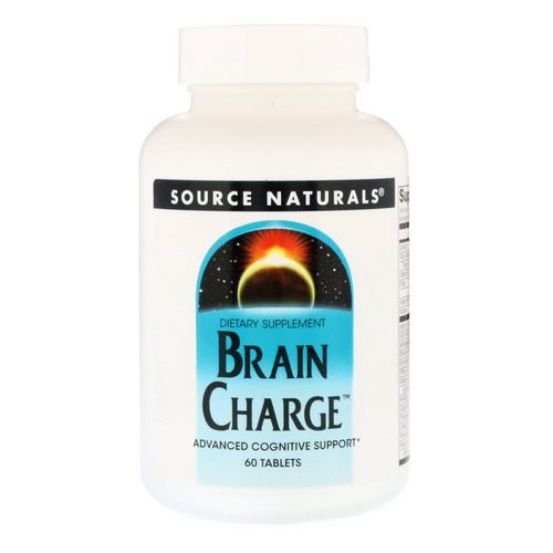 Source Naturals, Brain Charge, 60 Tablets Review