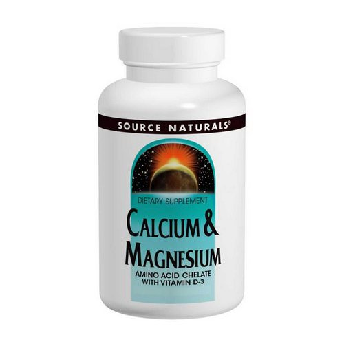 Source Naturals, Calcium & Magnesium, 300 mg, 250 Tablets Review