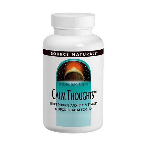 Source Naturals, Calm Thoughts, 90 Tablets Review