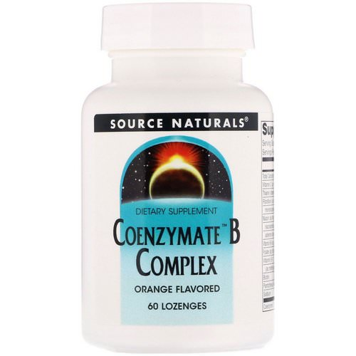 Source Naturals, Coenzymate B Complex, Orange Flavored, 60 Lozenges Review