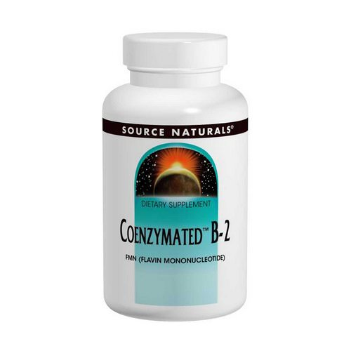 Source Naturals, Coenzymated B-2, Sublingual, 60 Tablets Review