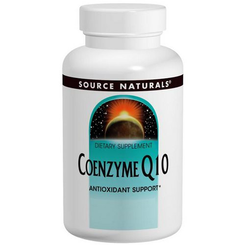 Source Naturals, Coenzyme Q10, 200 mg, 60 Capsules Review