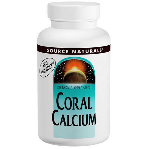 Source Naturals, Coral Calcium, 600 mg, 120 Tablets Review