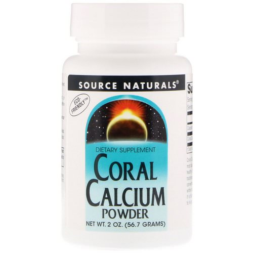 Source Naturals, Coral Calcium, Powder, 2 oz (56.7 g) Review