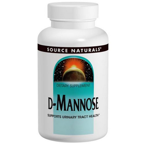 Source Naturals, D-Mannose, 500 mg, 120 Capsules Review