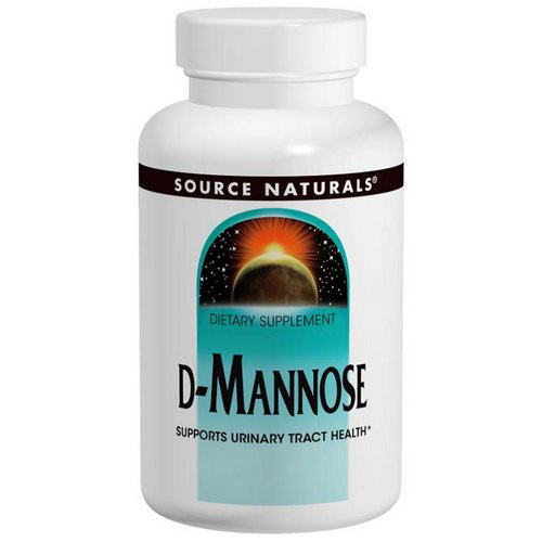 Source Naturals, D-Mannose, 500 mg, 60 Capsules Review
