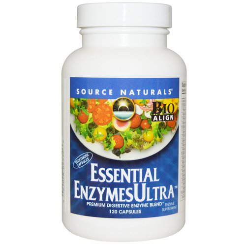 Source Naturals, Essential Enzymes Ultra, 120 Capsules Review