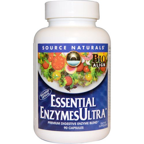 Source Naturals, Essential EnzymesUltra, 90 Capsules Review