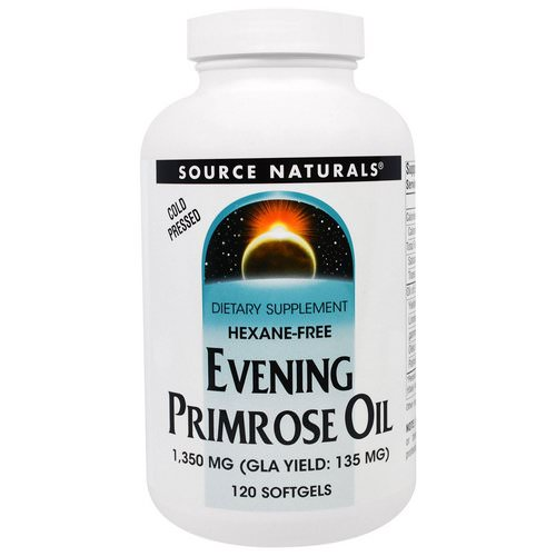 Source Naturals, Evening Primrose Oil, 1,350 mg, 120 Softgels Review