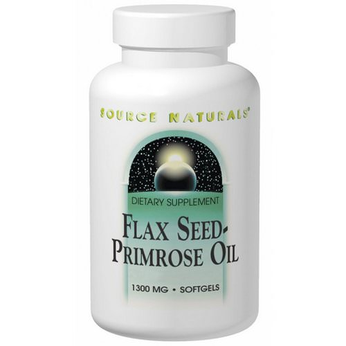 Source Naturals, Flax Seed-Primrose Oil, 1,300 mg, 180 Softgels Review