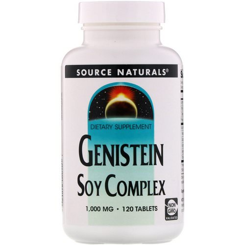 Source Naturals, Genistein Soy Complex, 1,000 mg, 120 Tablets Review