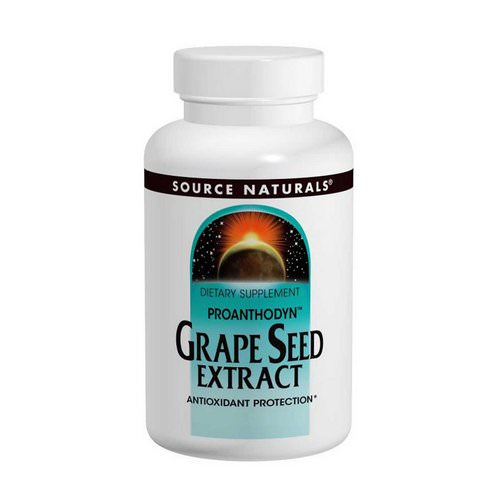 Source Naturals, Grape Seed Extract, Proanthodyn, 100 mg, 120 Capsules Review