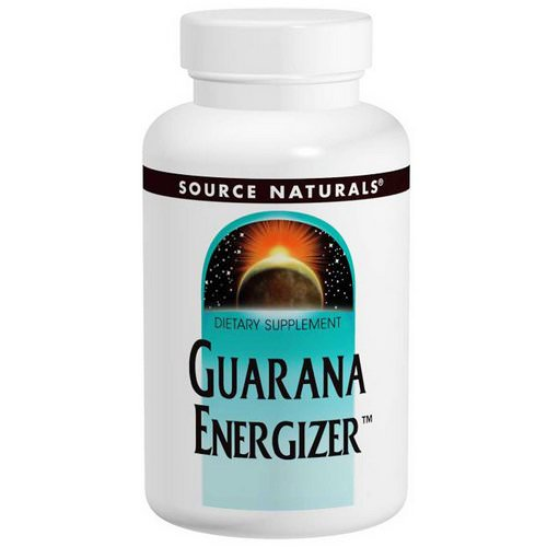 Source Naturals, Guarana Energizer, 900 mg, 60 Tablets Review
