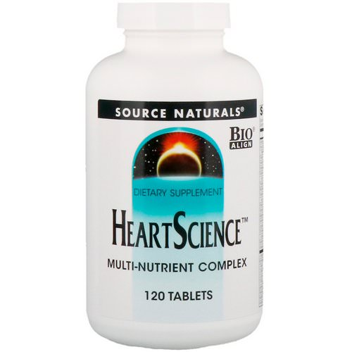 Source Naturals, Heart Science, Multi-Nutrient Complex, 120 Tablets Review