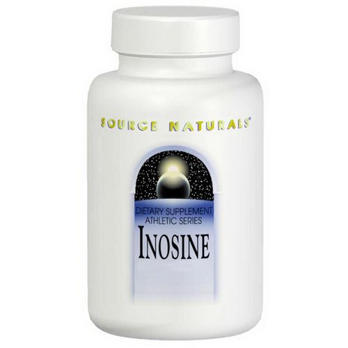 Source Naturals, Inosine, 500 mg, 60 Tablets Review