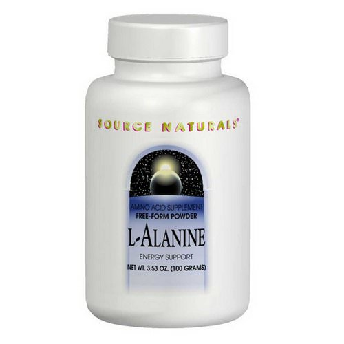 Source Naturals, L-Alanine, 3.53 oz (100 g) Review