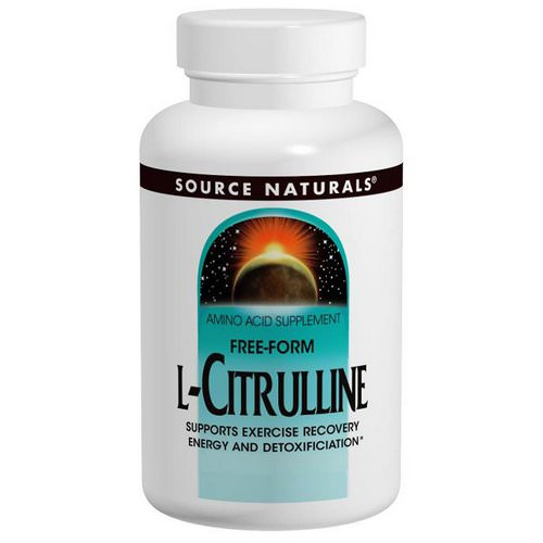 Source Naturals, L-Citrulline, Free-Form, 120 Tablets Review