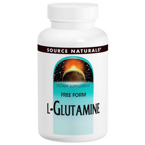 Source Naturals, L-Glutamine, 500 mg, 100 Capsules Review