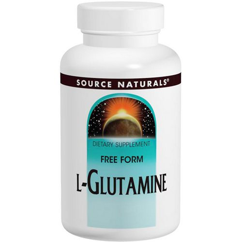 Source Naturals, L-Glutamine, 500 mg, 100 Tablets Review